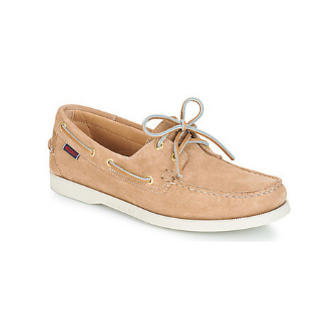 Sebago DOCKSIDES men's Boat Shoes in Brown