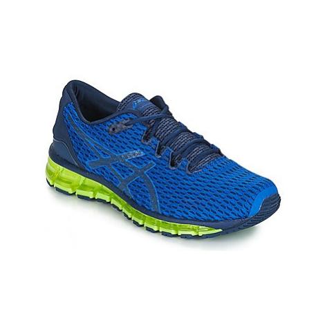 Blue men's running shoes