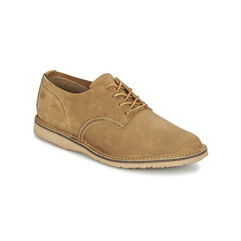 Red Wing OXFORD men's Casual Shoes in Beige