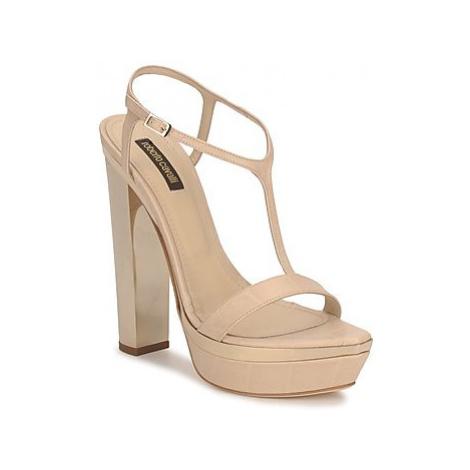 Roberto Cavalli RDS735 women's Sandals in Beige
