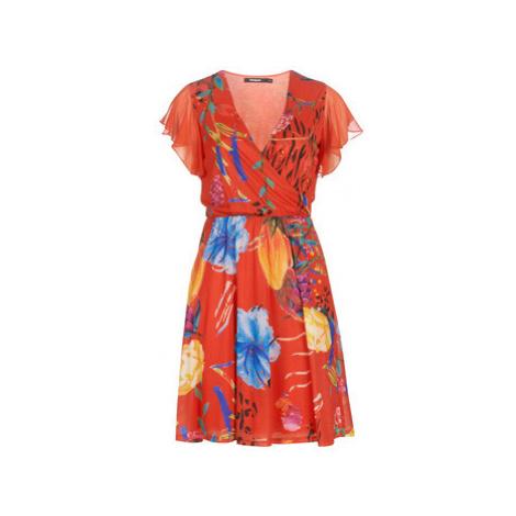 Desigual MIRANDA women's Dress in Red