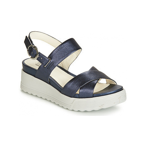 Stonefly PARKY 1 LAMINATED LTH women's Sandals in Blue