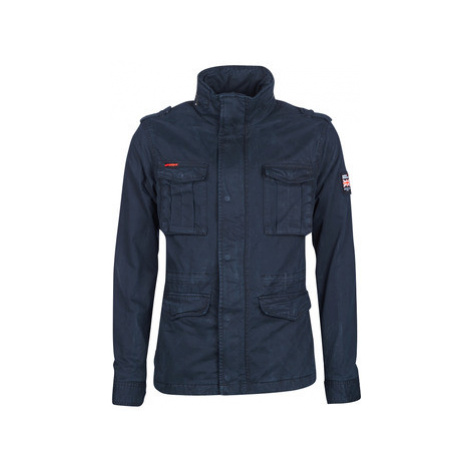 Superdry CLASSIC ROOKIE 4 PKT JKT men's Parka in Blue