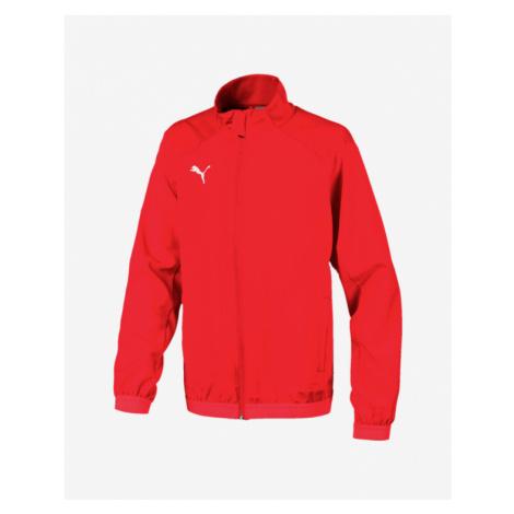 Puma Liga Sideline Kids Jacket Red