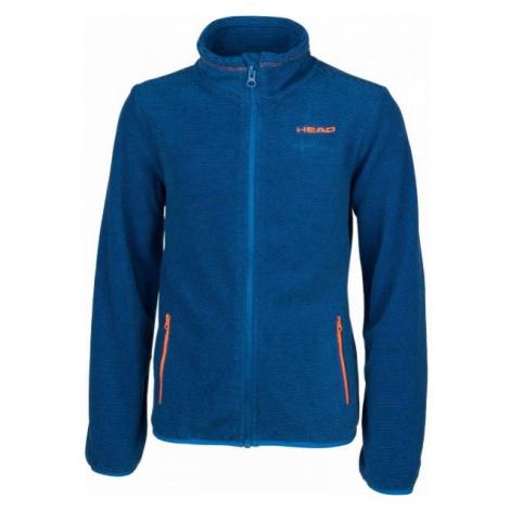 Head CATO blue - Children's fleece sweatshirt