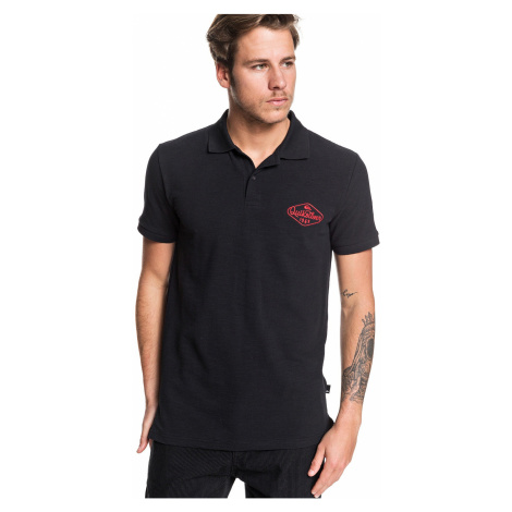 T-Shirt Quiksilver Miz Kimitt Polo - KVJ0/Black - men´s