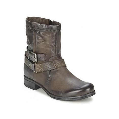 Mjus YEDDY women's Mid Boots in Brown