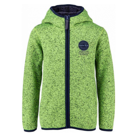 Lewro SOLON green - Women's fleece sweatshirt