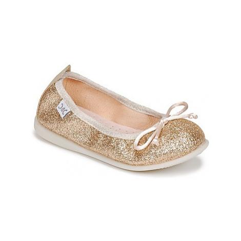 Citrouille et Compagnie IGLITO girls's Children's Shoes (Pumps / Ballerinas) in Gold