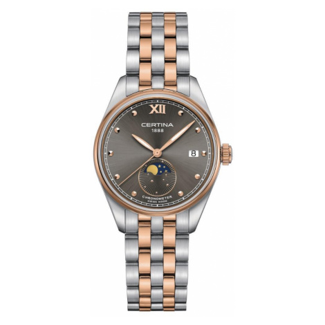 Certina Watch DS-8 Moon Phase Lady