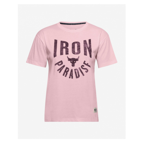 Under Armour Project Rock Graphic T-shirt Pink
