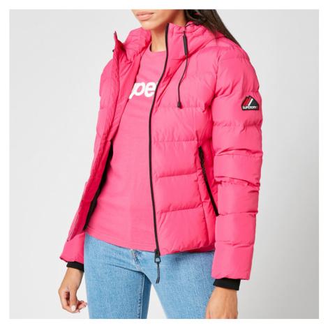 Superdry Women's Spirit Sports Puffer Jacket - Pink