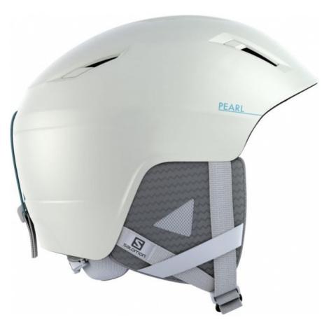 Salomon PEARL2+ white - Women's ski helmet