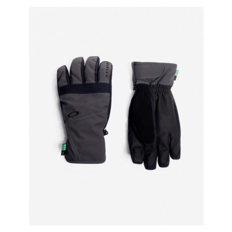 Grey men's gloves