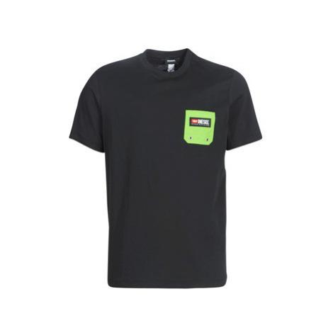 Diesel JUST B men's T shirt in Black