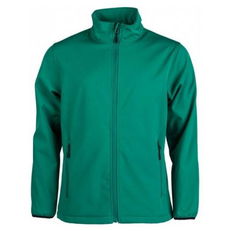 Kensis RORI green - Men's softshell jacket