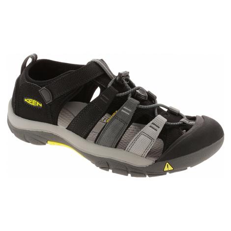 shoes Keen Newport H2 - Black /Magnet - unisex junior