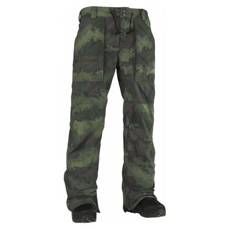 pants Burton Southside Mid Fit - Oil Camo