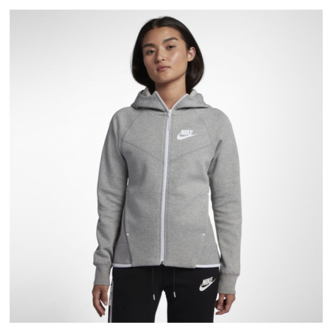 Nike Sportswear Tech Fleece Windrunner Women's Full-Zip Hoodie - Grey