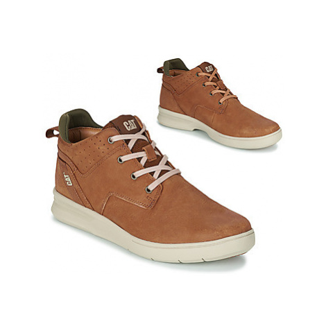 Caterpillar WARRANT men's Shoes (High-top Trainers) in Brown