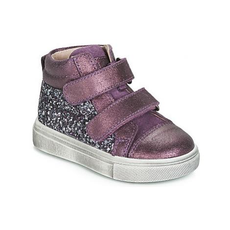 Acebo's 5299AV-LILA-C girls's Children's Shoes (High-top Trainers) in Purple