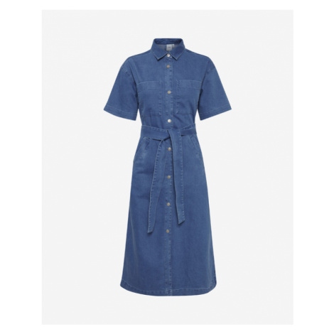 ICHI Dress Blue