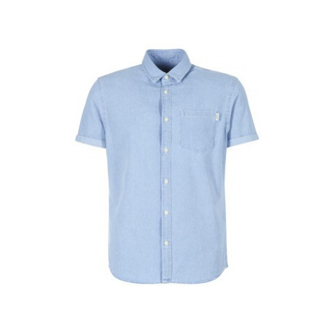 Jack Jones JORMALONE men's Short sleeved Shirt in Blue Jack & Jones