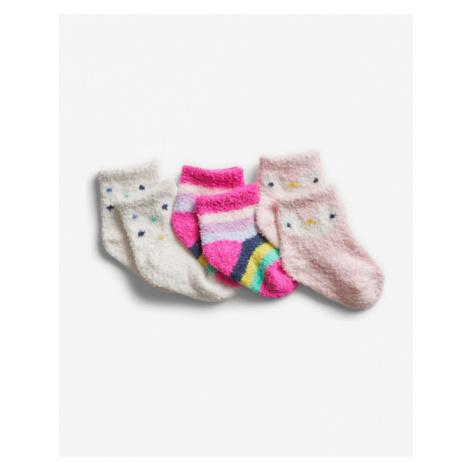 GAP Socks 3 pcs kids Colorful