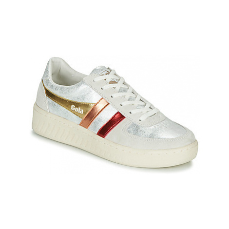 Gola GRANDSLAM SHIMMER FLARE women's Shoes (Trainers) in Beige