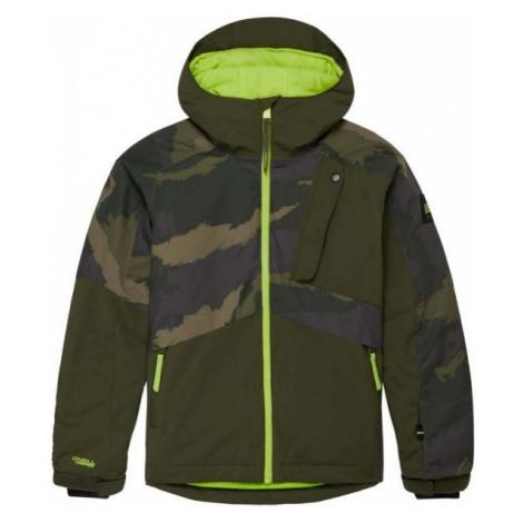 O'Neill PB APLITE JACKET dark green - Boys' ski/snowboard jacket