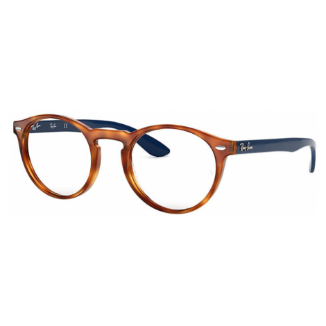 Ray-Ban Rb5283 Unisex Optical Lenses: Multicolor, Frame: Blue - RB5283 5609 49-21