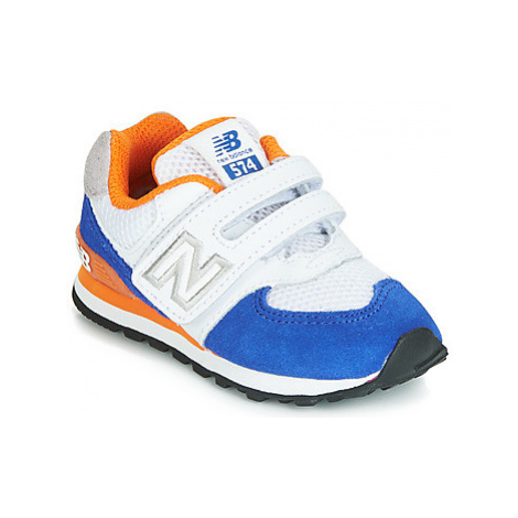 New Balance IV574 girls's Children's Shoes (Trainers) in White
