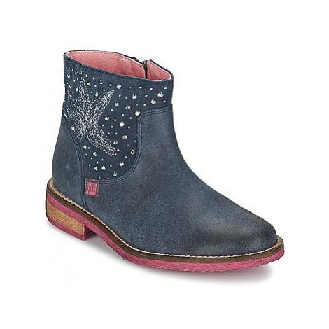 Agatha Ruiz de la Prada ITALA girls's Children's Mid Boots in Blue