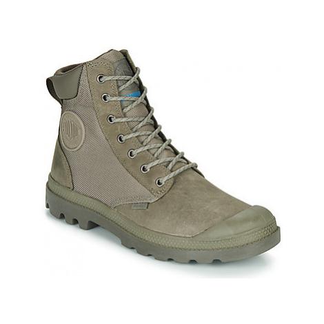 Palladium PAMPA SPORT CUFF WPN men's Mid Boots in Grey