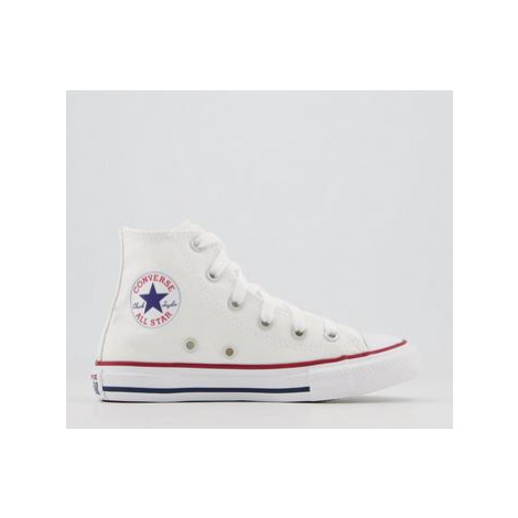 Converse All Star Hi Youth Trainers OPTICAL WHITE