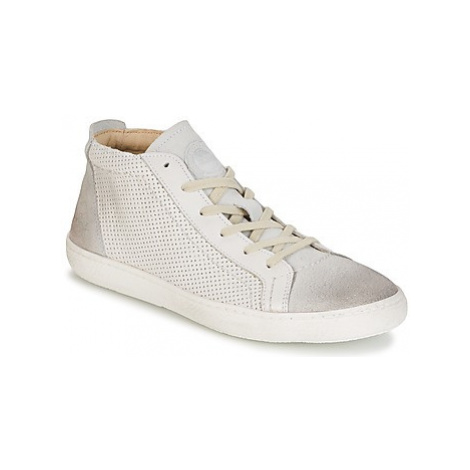 Kickers READY women's Shoes (High-top Trainers) in White