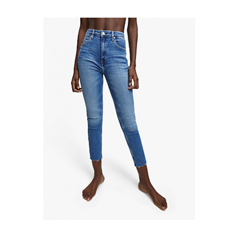 Calvin Klein High Skinny Ankle Jeans, Blue