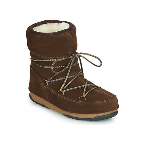 Moon Boot MOON BOOT LOW SUEDE WP women's Snow boots in Brown