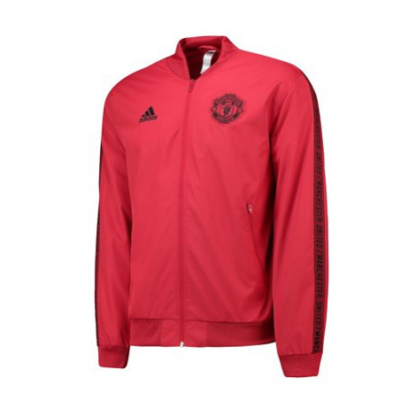 Manchester United Anthem Jacket - Red Adidas