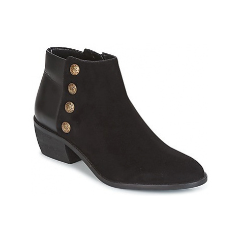 Dune London PANELLA women's Low Ankle Boots in Black