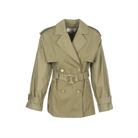 MICHAEL Michael Kors SHRT WIDE TRENCH women's Trench Coat in Kaki