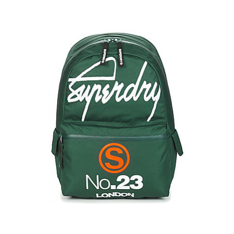 Superdry INTERNATIONAL BUM BAG MONTANA men's Backpack in Green