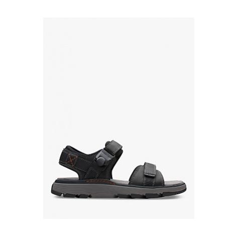 Clarks Un Trek Leather Sandals
