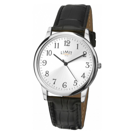 Mens Limit Silver Coloured Classic Watch