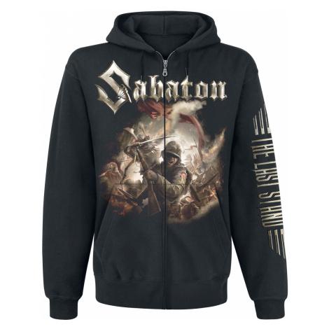Sabaton - The Last Stand - Hooded zip - black