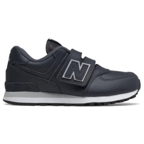 New Balance 574 Shoes - Outerspace/Light Aluminum