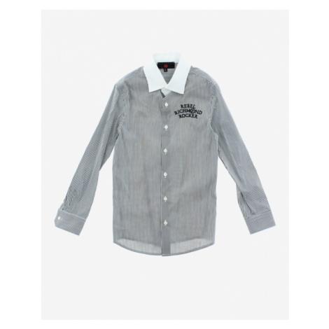 John Richmond Kids Shirt White Grey