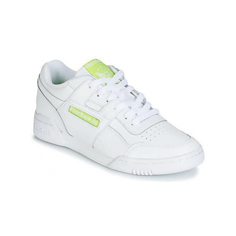 Reebok Classic WORKOUT PLUS MU women's Shoes (Trainers) in White