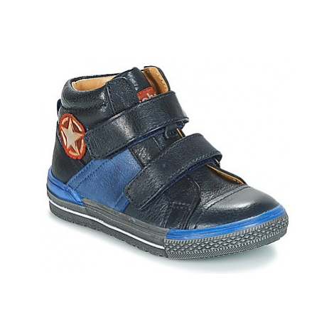 Acebo's PURNA boys's Children's Shoes (High-top Trainers) in Blue