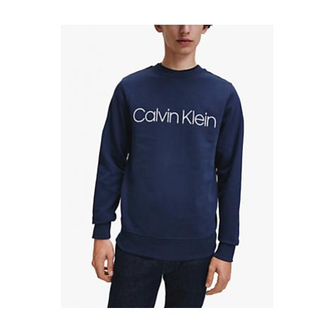 Calvin Klein Organic Cotton Logo Crew Neck Sweatshirt